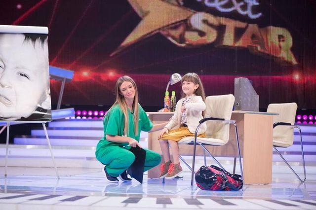 Maia Mălăncuș la Next Star