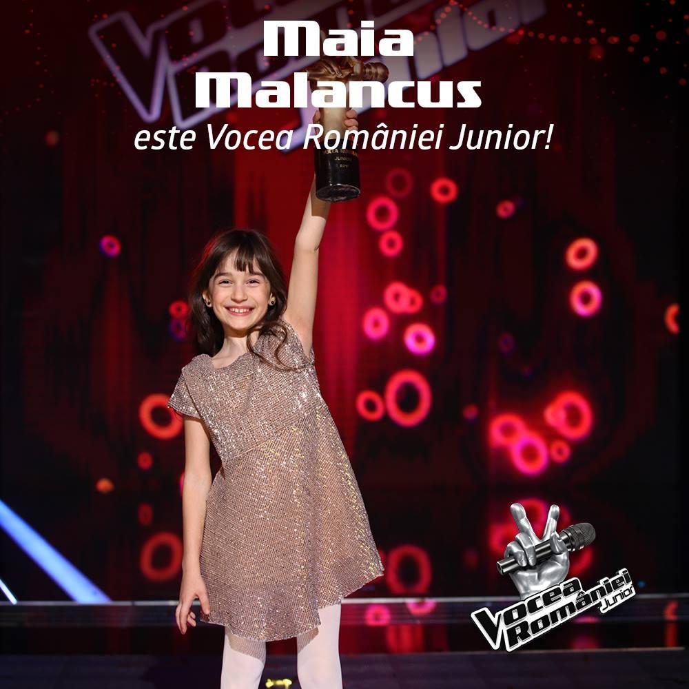 Maia Malancus este Vocea Romaniei Junior!