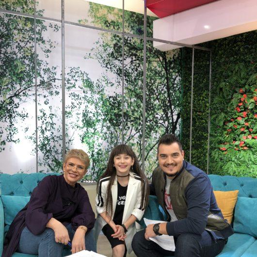 """Maia Mălăncuș invitată în platoul emisiunii """"Teo Show"""""""
