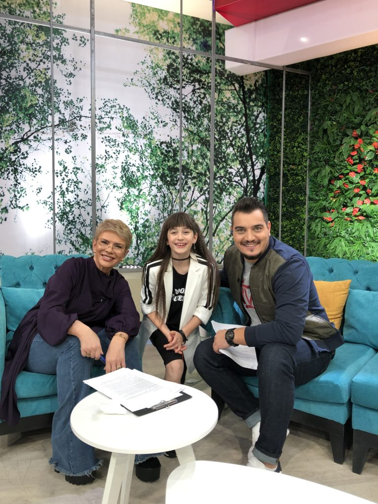 Maia Mălăncuș invitată în platoul emisiunii