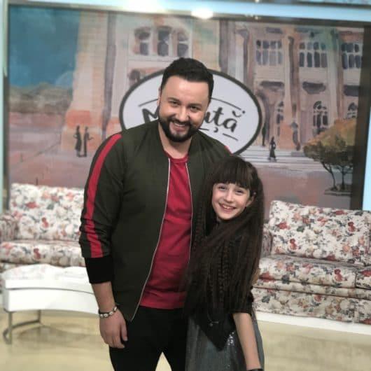 """Maia Mălăncuș a fost invitată în platoul emisiunii """"La Măruță"""" și a povestit despre nouă ei piesă, """"Noi nu plecăm de aici"""""""