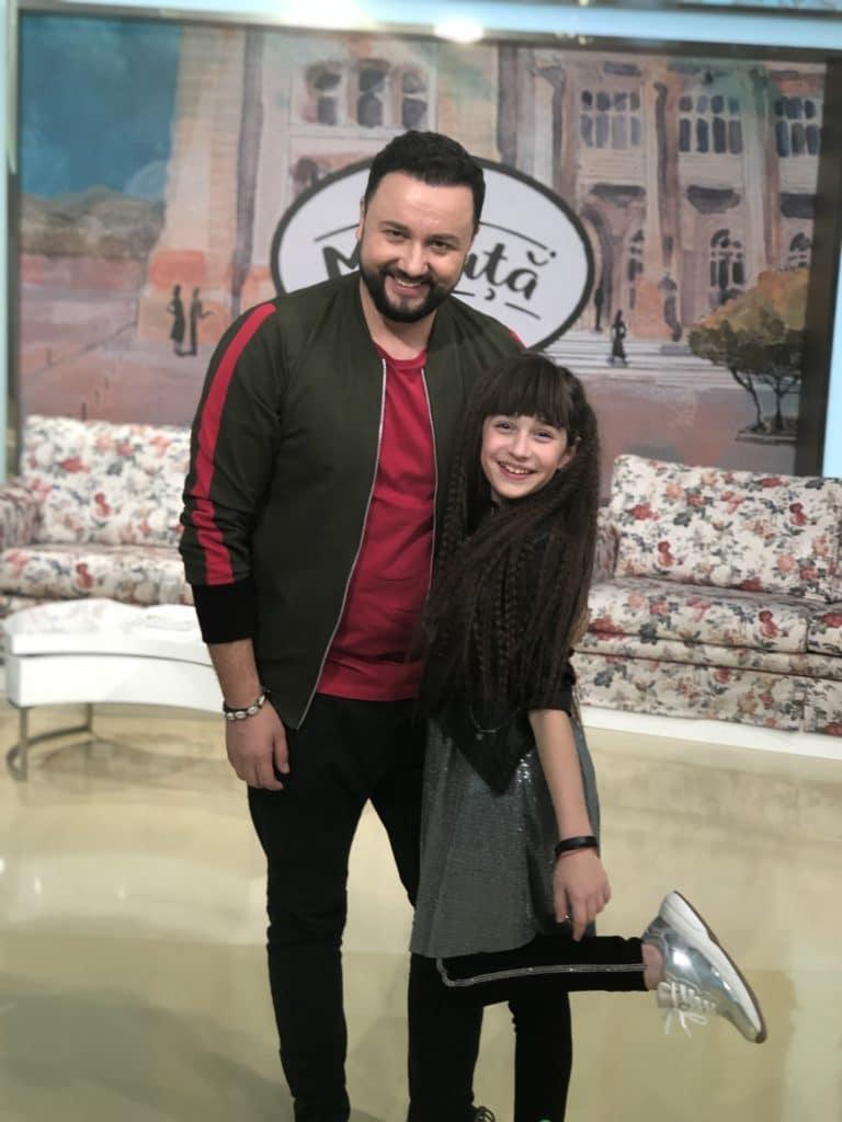 Maia Mălăncuș a fost invitată în platoul emisiunii
